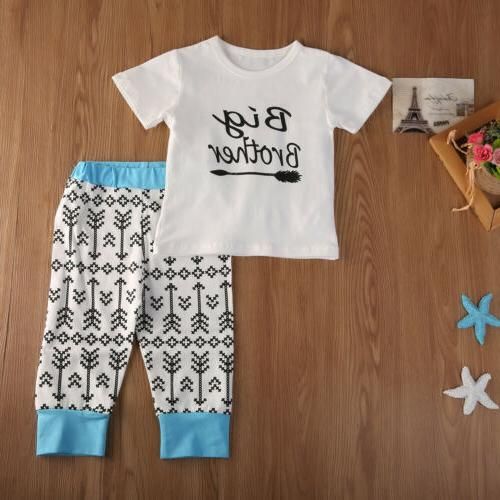 2019 Baby Boys Romper Brother Matching