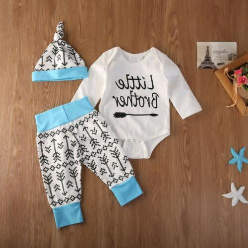 2019 Baby Boys Romper T-shirt+Pants Brother Matching