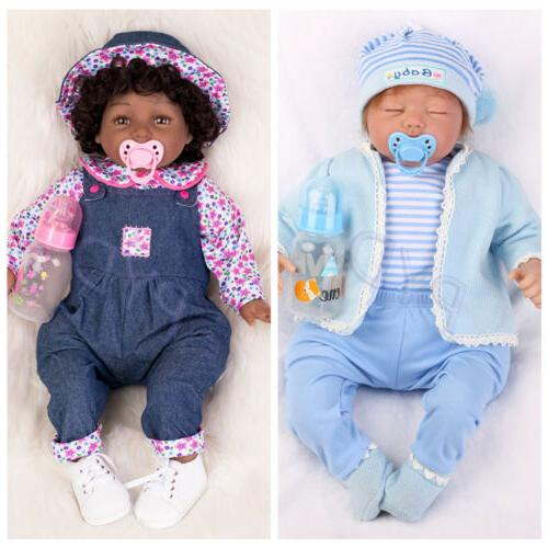 22 realistic reborn baby dolls african american