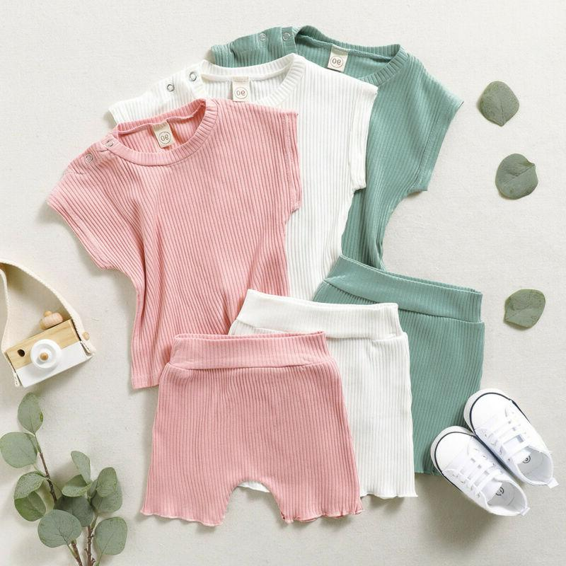 Girl shirt Tops+Shorts Outfits Clothes