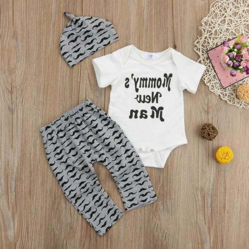 3PC Romper Tops + Long Pants Outfits