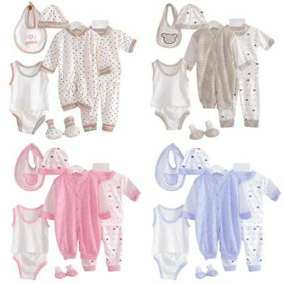 8pcs set newborn baby girl boy pajamas