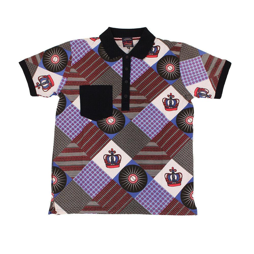 Afrocentric Polo Shirt  | Men's, Boys,African Clothing Dress