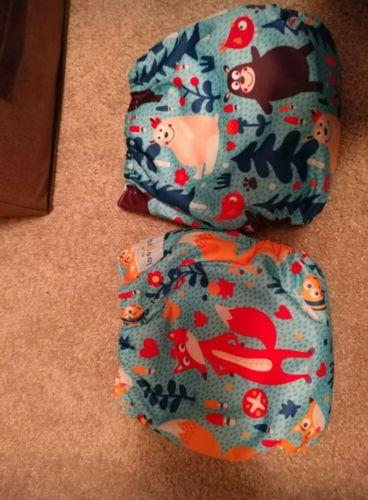 AlvaBaby, One Diapers & 12 inserts, neutral, boy
