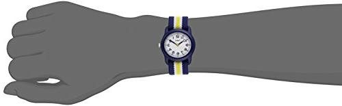 Timex - Blue Yellow Strap Minutes TW7C05800