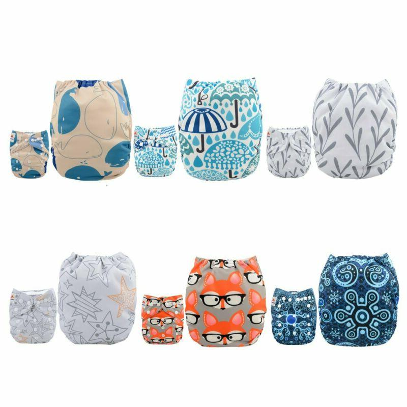 baby pocket cloth diapers reusable washable adjustable