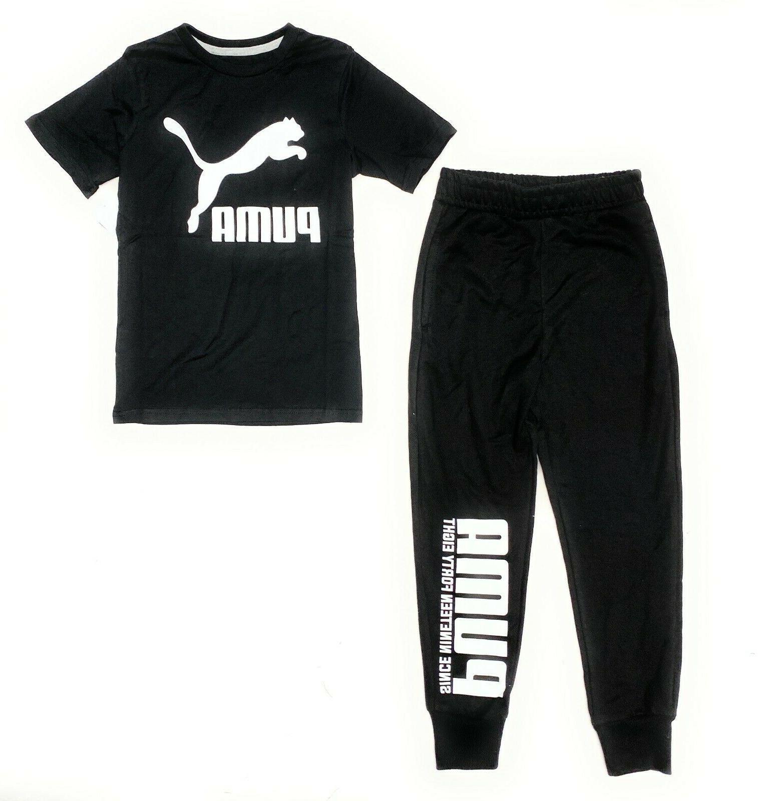 big boys terry cloth joggers and t