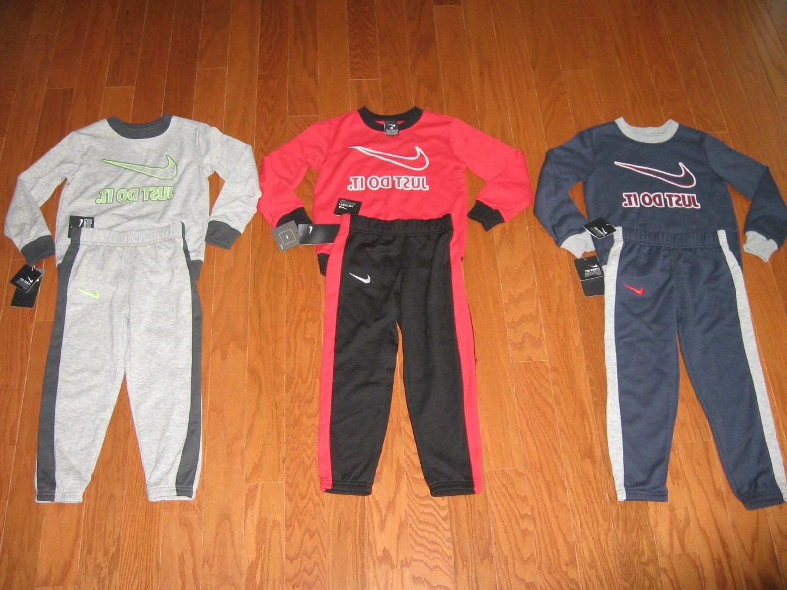 boys 2 pc sweatshirt and pants outfit