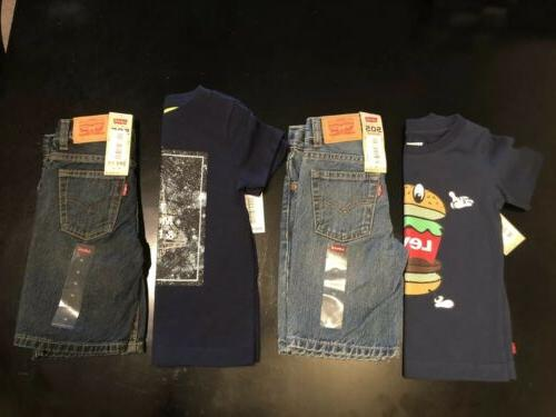 boys clothes size 3t levis outfit new