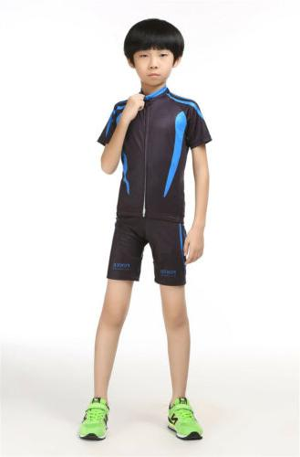 boys cycling clothing spring summer jersey short