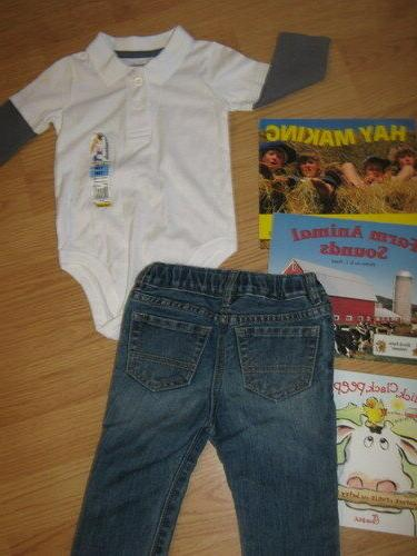 Boys size 12 month clothes and