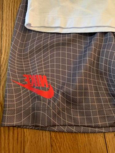 Nike Boys 2 With And T-shirt Gray