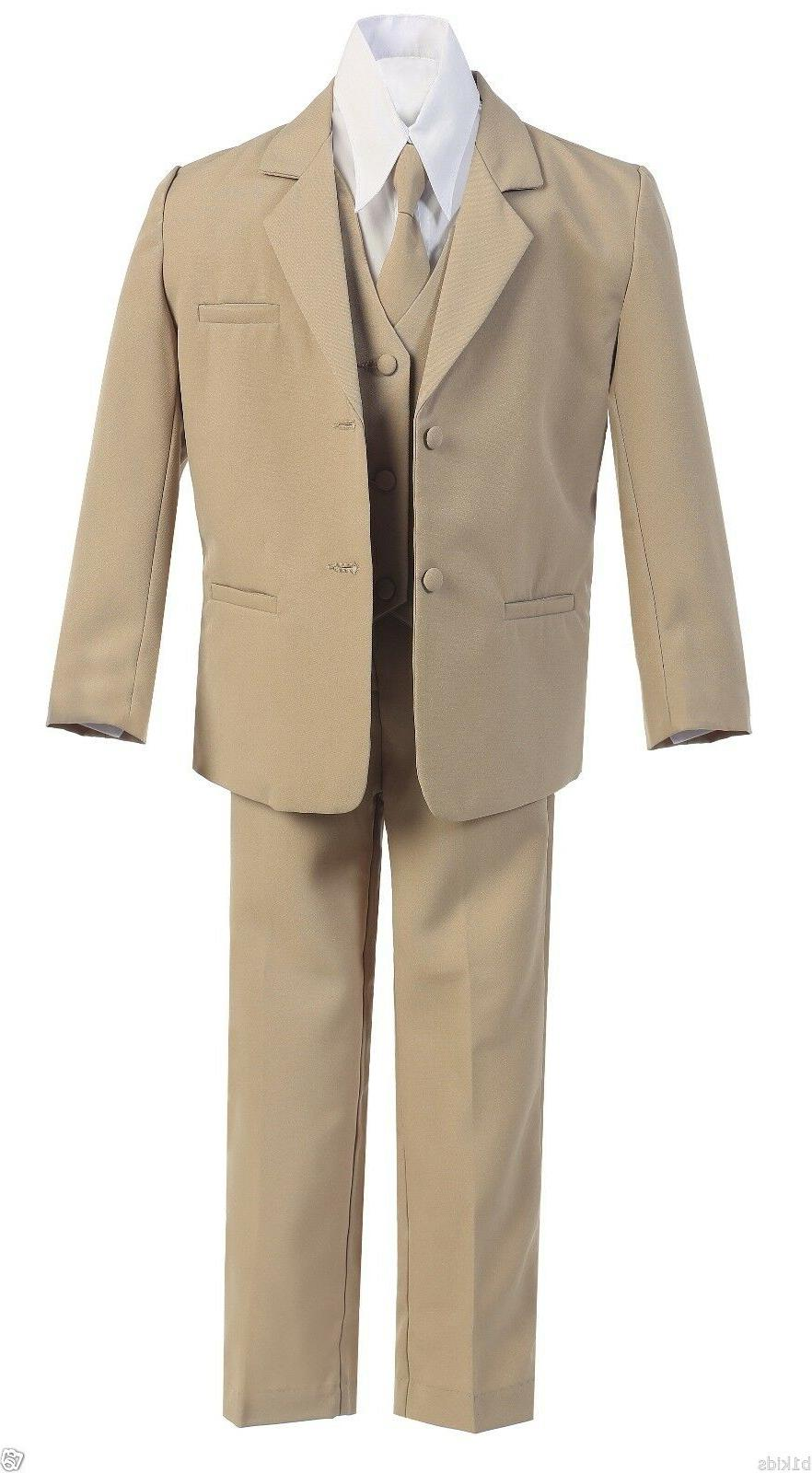 Boys Suits Formal Party Toddler 5-20