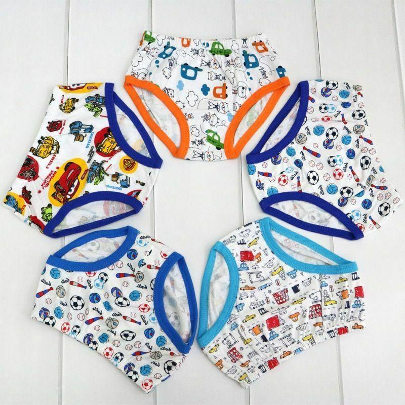 Cotton Underwear Boys Lows Prices Child Clothing Pieces/lot