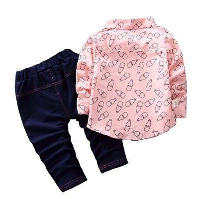 Cute 0-5T Baby Pants Outfits Set