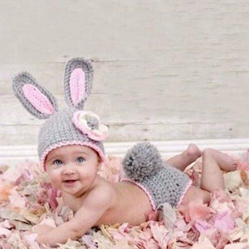 Cute Frog Baby Hats Outfits