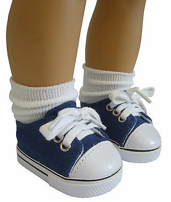 doll clothes fits 18 american girl navy