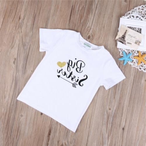 Fashion Kid Baby Big Little Brother Boy Romper Clothes