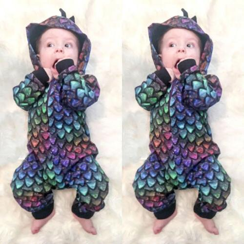 Fashion Baby Girls Playsuit Outfits Clothes