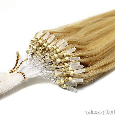 Indian Remy Extensions Micro Ring Bead Easy US