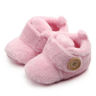 infant baby boys girls winter shoes soft