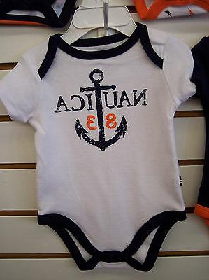 Infant Boys Nautica 5-Pack Assorted Sz Months 6/9