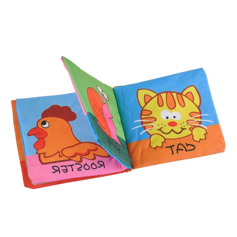 Intelligence Cloth Cognize Book Toy Fr Baby Boy