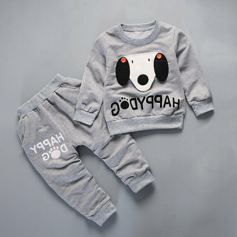 IENENS Clothes Baby Sleeve Tracksuit