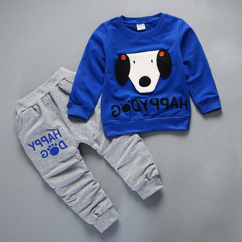 IENENS Baby Set Long Sleeve Tracksuit
