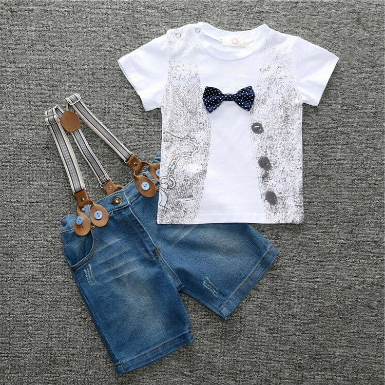 Kids Boys Party Gentleman Clothing Casual Suit Sets