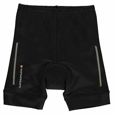 kids junior boys padded cycling shorts bottoms