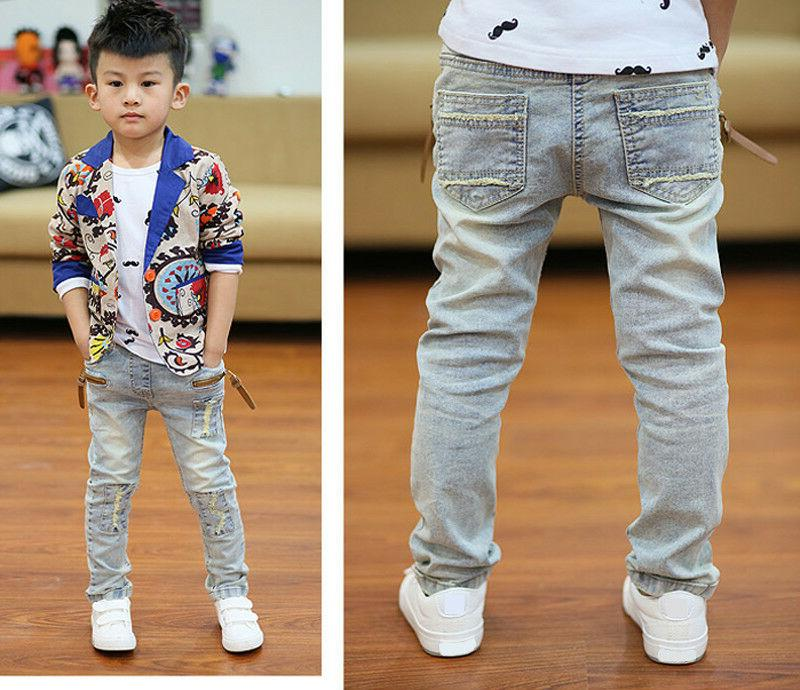 Kids Young Boys Clothing Pants Jeans