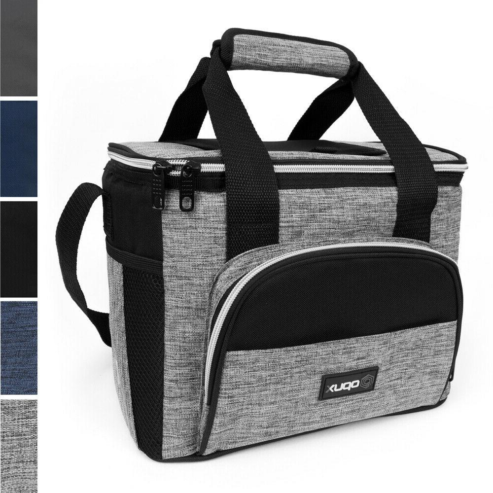 Large Insulated Lunch Soft Women Reusable Lunch Tote Box NEW