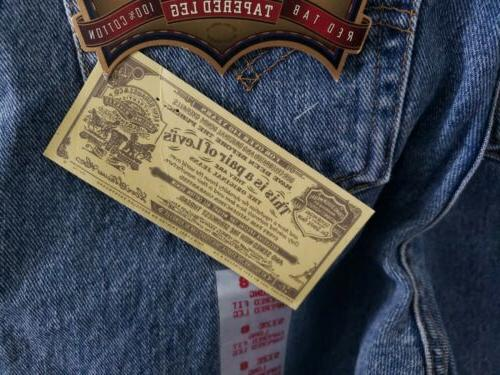 Levi's 8 Tapered Made USA