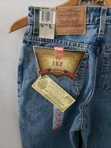 Levi's 8 Long Tapered Made
