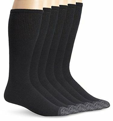 Fruit Of The Loom Mens 6 Pack Cushioned Over The Calf Tube S