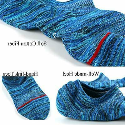 Mens Socks Low Cut No See Athletic Size: