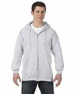 Hanes Mens Ultimate Cotton® Heavyweight Full Zip H - Choose