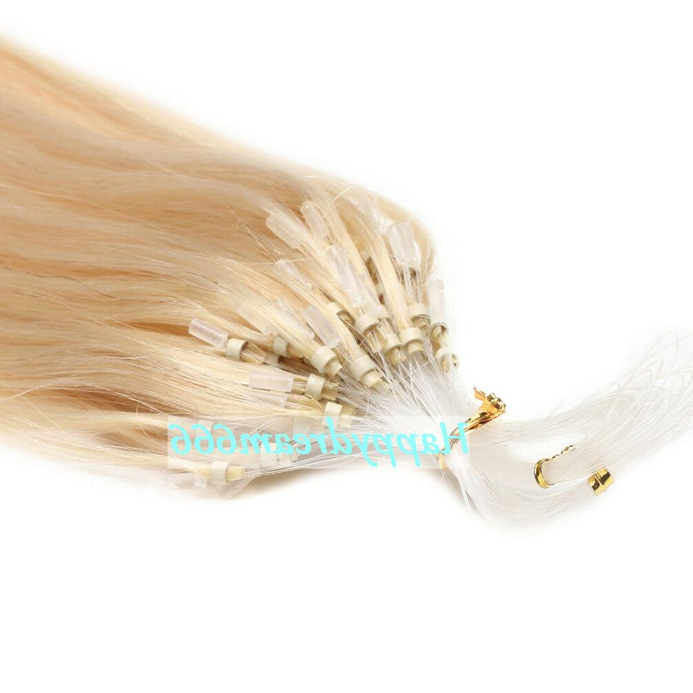 Tip Link Remy Human Hair Extensions 100S