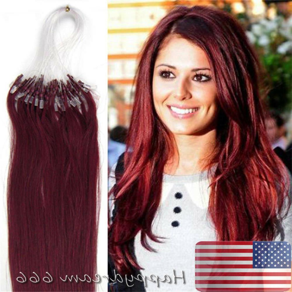Micro Loop Tip Indian Remy Human Hair Extensions 100S