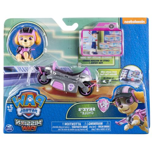 Paw Mission - Skye's Cycle Figure and Vehicle