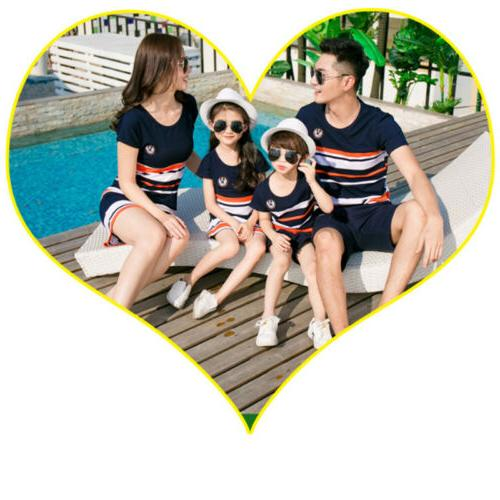 Mother and Clothes Parent-child Family Outfits Girl
