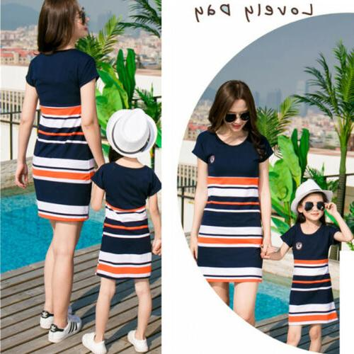 Mother Parent-child dress Family Matching Outfits Baby