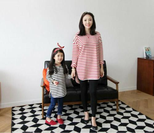Mother Clothes T-Shirt Dress Matching Outfit