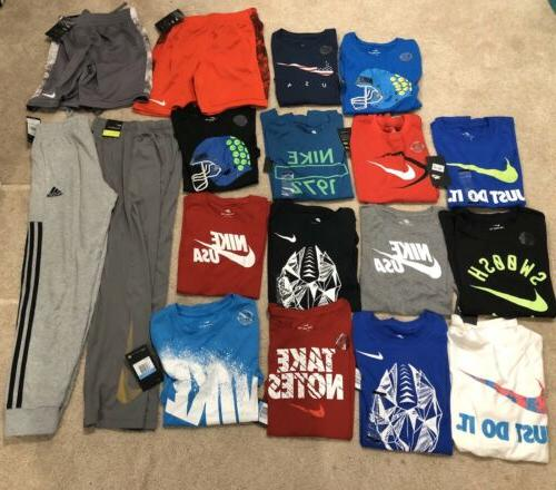 new lot of boys clothes adidas size