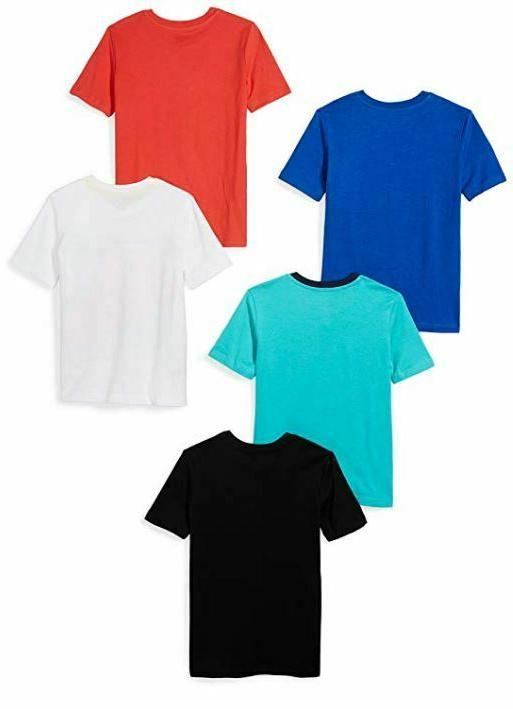 NEW Boy's Toddler 5-Pack Short-Sleeve T-Shirts