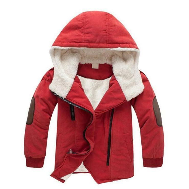 Toddler Baby Kids Boy Winter Hooded Down Jacket Clothing