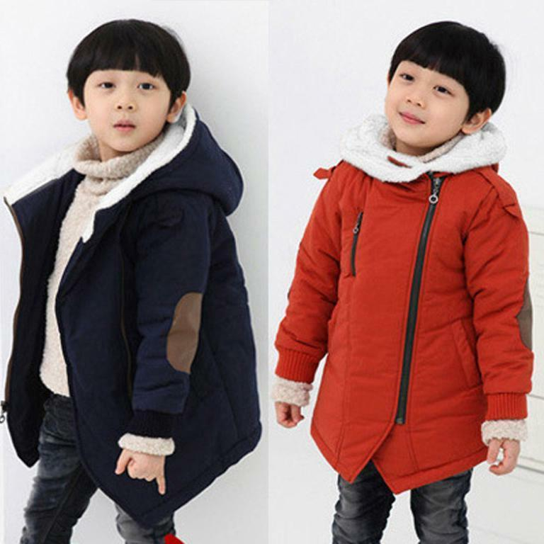 toddler baby kids boy winter outerwear fur