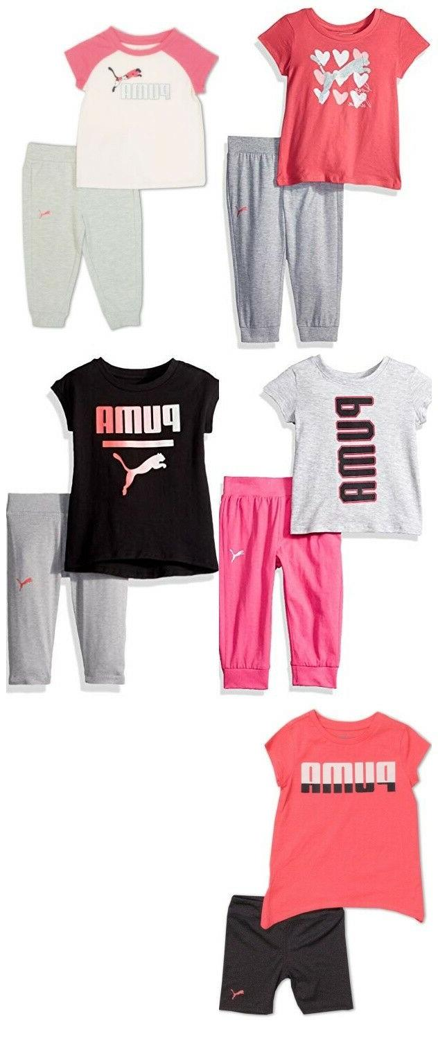 new toddler girls shirt and jogger or