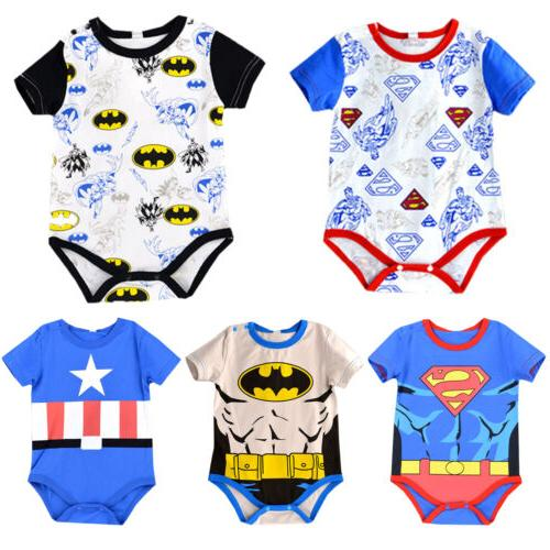 Newborn Marvel Jumpsuit Clothes